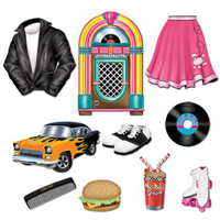 1950 S Rock N Roll Party Supplies Ideas Accessories Decorations