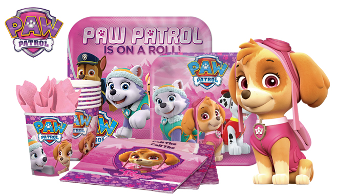 Paw Patrol Girl Party Supplies