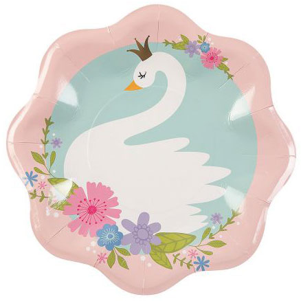 Sweet Swan 1st Birthday Berry Party Supplies