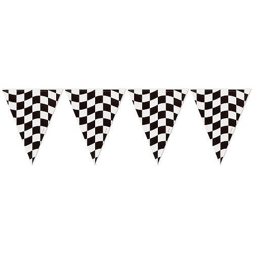 Black Checkered Flag Banner Party Supplies Ideas Accessories