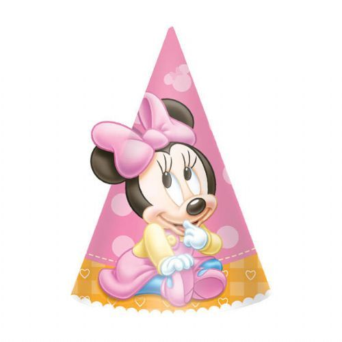 Minnie 1st Birthday Cone Hat