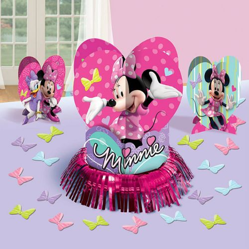 Minnie Mouse Table Decorating Kit Party Supplies Ideas