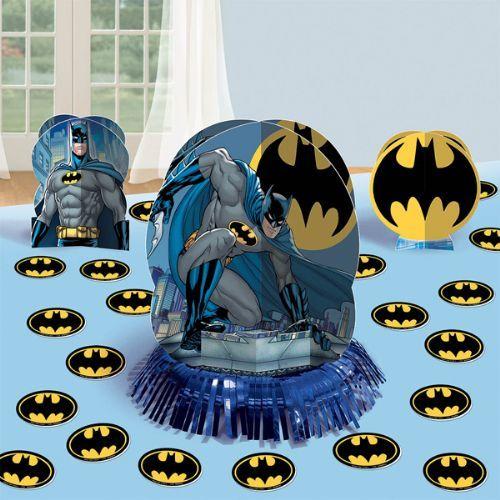 Batman Table Decorating Kit Party Supplies Ideas Accessories