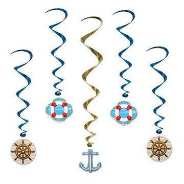 Cruise Ship Whirls Party Supplies Ideas Accessories Decorations