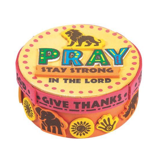 African Safari Vbs Prayer Box Craft Kit Party Supplies Ideas
