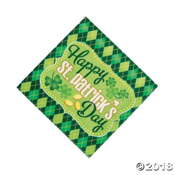 Argyle St Patrick S Day Lunch Paper Napkins Party Supplies Ideas