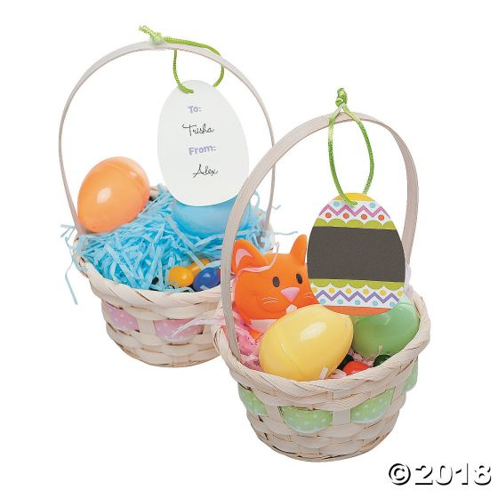 Easter basket gift tags party supplies ideas accessories easter basket gift tags negle Image collections