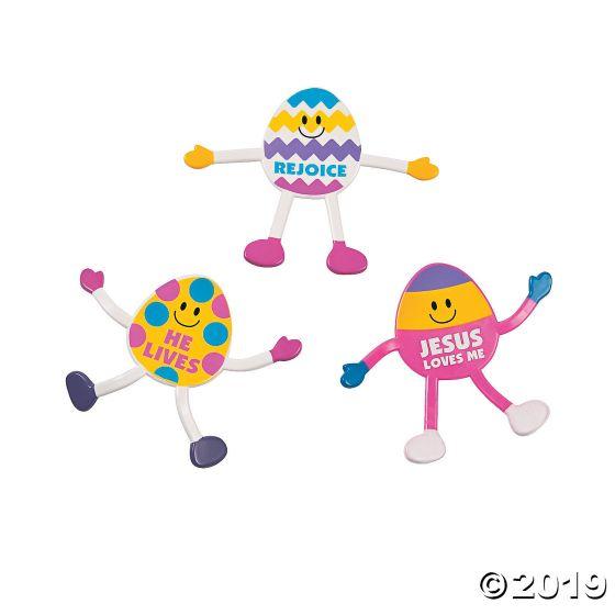 Faith Easter Egg Bendables