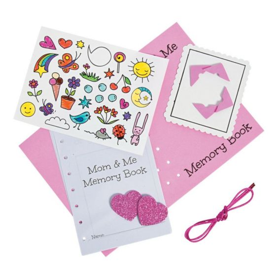 Mommy And Me Memory Book Craft Kit Party Supplies Ideas