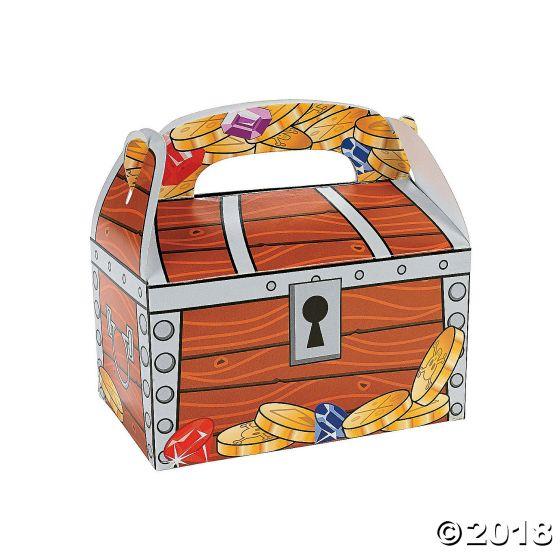 Treasure Chest Favour Boxes Party Supplies Ideas Accessories