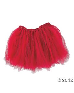 Burgundy Tulle Tutu Adult