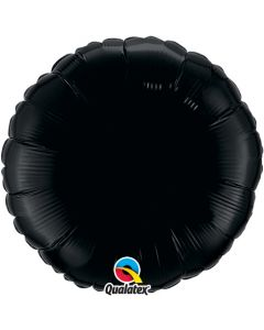 18 Inch Foil Onyx Black Plain