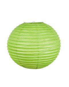 """18"""" Lime Green Hanging Paper Lanterns"""