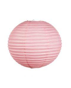 """18"""" Pink Hanging Paper Lanterns"""