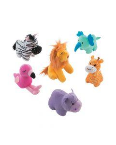 1st Birthday Party Zoo Stuffed Animals