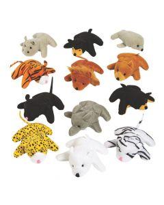 25 Pc. Mini Zoo Stuffed Animal Assortment