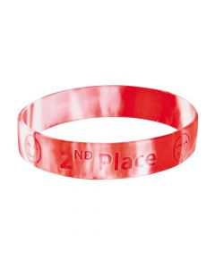 2nd Place Rubber Bracelets