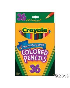 36-color Crayola Colored Pencils
