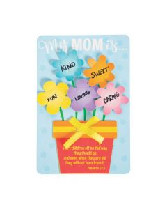 3D Religious Mother's Day Flower Craft Kit