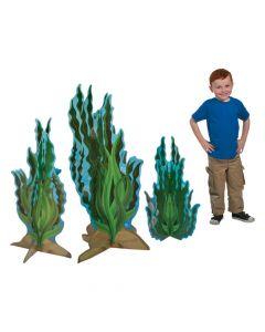 3D Seaweed Cardboard Stand-Ups