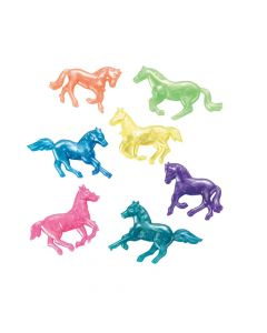 48 Pearlized Squishy Horses