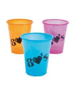80's Plastic Cups