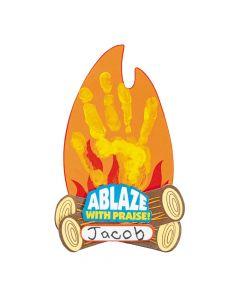 Ablaze with Praise Handprint Craft Kit