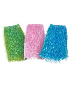 Adult's Iridescent Hula Skirts