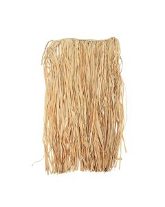 Adult's Natural Raffia Hula Skirt