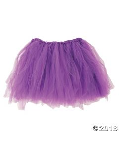 Purple Tulle Tutu Adult
