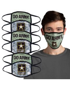 Adult's U.S. Army Face Masks