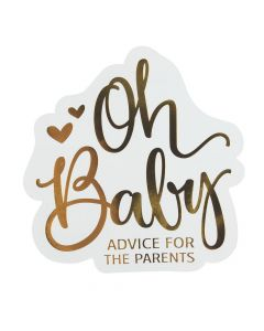 Advice for the Parents Baby Shower Game