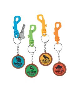 African Safari VBS Backpack Clip Keychains