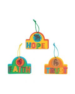 African Safari VBS Ornament Craft Kit