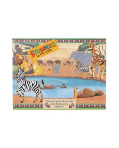 African Safari VBS Sticker Scenes