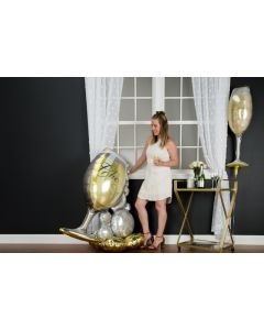 Airloonz Bubbly Wine Glass