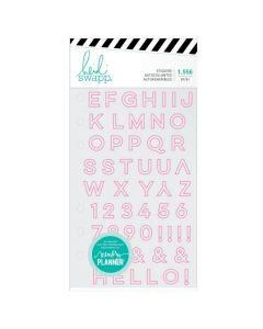 American Crafts Heidi Swapp Alphabet Sticker Book