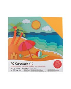 American Crafts Summer Cardstock Variety Pack