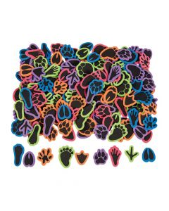 Animal Paw Print Self-Adhesive Shapes
