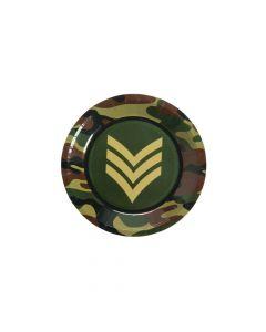 Army Paper Dessert Plates
