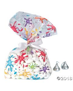 Artist Party Cellophane Bags