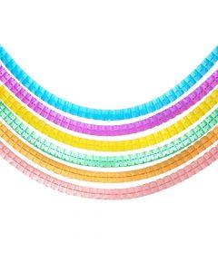 Assorted Pastel Tissue Garlands