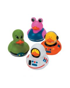 Astronaut Space Alien Rubber Duckies