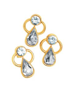 Austrian Crystal Angel Pins