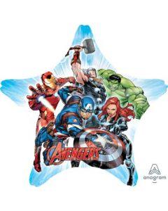 Avengers Animated Star Jumbo Balloon