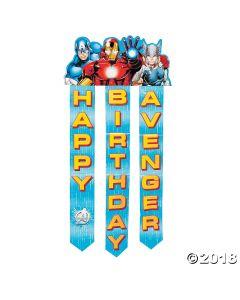 Avengers Assemble Birthday Paper Banner