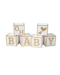 Baby Blocks Decoration