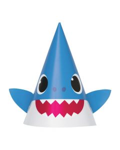 Baby Shark Cone Party Hats