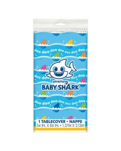 Baby Shark Plastic Tablecloth