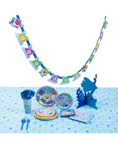 Baby Shark Tableware Kit for 8